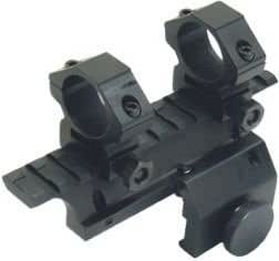 Leapers Weaver Base Scope Mount With Scope Rings For Ruger Mini-14, Mini-30 And Ranch Rifles