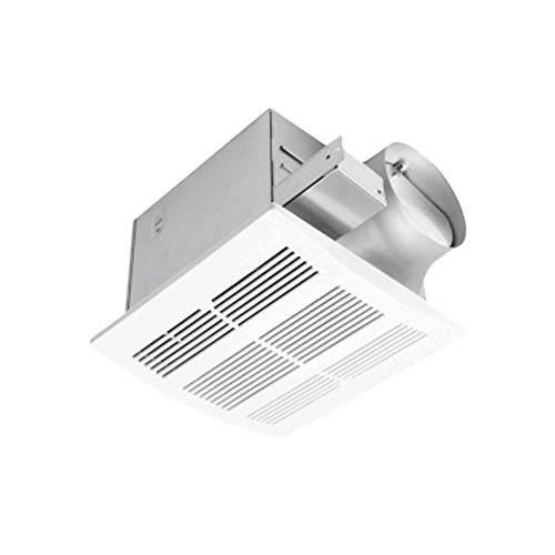 Ultra Quiet Ventilation Fan Bathroom Exhaust Fan (110CFM/0.8Sone) with 6 Inch Duct Size