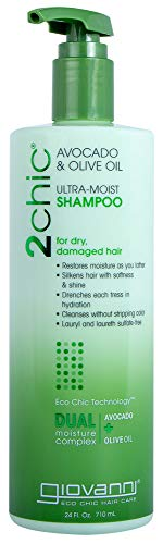 GIOVANNI COSMETICS - Ultra-Moist Shampoo With Avocado And Olive Oil (24 (Avocado Olive Oil)