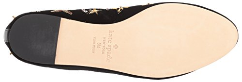 Black Flat Loafer Stelli Women's Spade Kate xwqX1fx