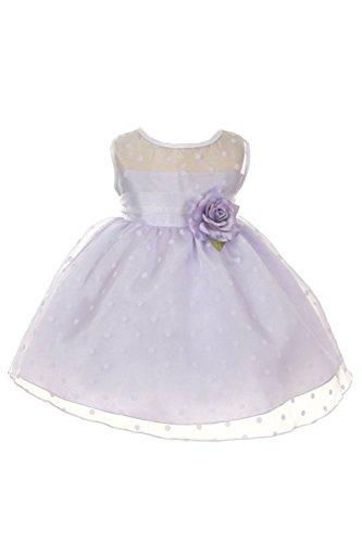 lilac baby dress - 3