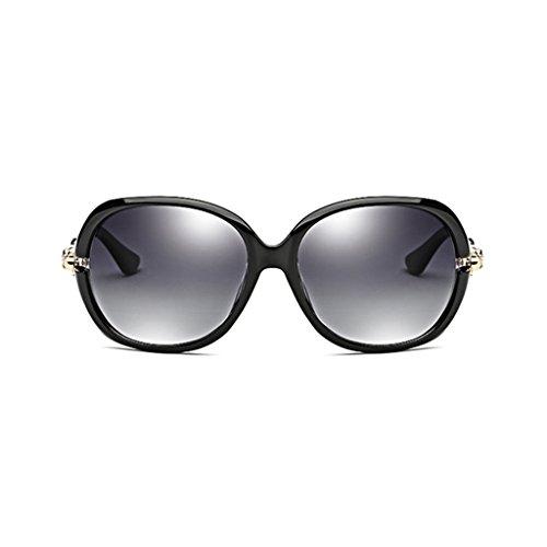 Calle polarizadas polarizó con Las Rojo Moda la Gafas Mujer Color Wayfarer La de sol de 59mm Estilo Black Vino Gafas SgWqW7zRO