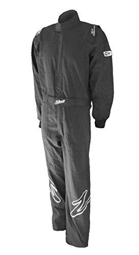 Zamp  Men's Suit Single Layer(Black, Large), 1 Pack by Zamp