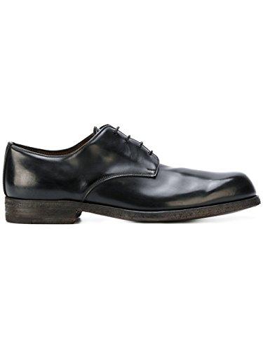 Premiata Lacets Chaussures Noir À Cuir 30332xbinderbrassblack Homme qwYFxqPp