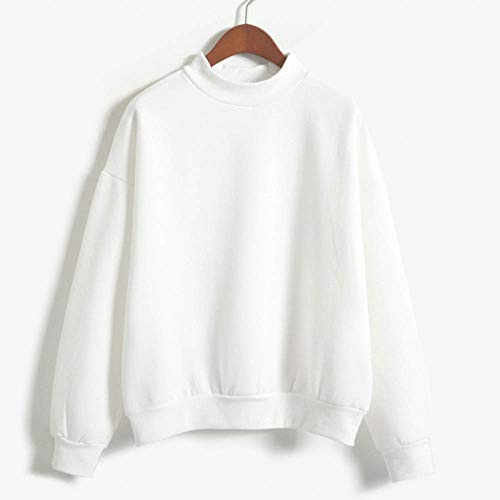 Blanc Solike Manteau Tops Longues Sweat Automne Imprim Casual Femme Shirt Chemisier Pullover Sweatshirt Filles Imprim Capuche Manches Sweats Hiver Chat Loose EwRcqpB7