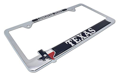 texas ex license plate frame - 5