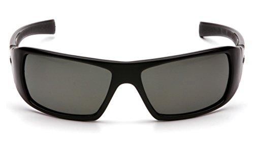 Pyramex Goliath Safety Eyewear, Black Frame, Gray Polarized Lens by Pyramex Safety (Image #2)