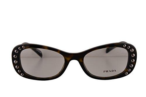 Prada PR21RV Eyeglasses 51-19-140 Havana 2AU1O1 VPR21R Fo...