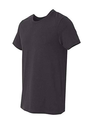 Bella + Canvas Unisex Jersey Short Sleeve Tee (Dark Grey) ()