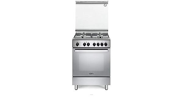 Cocina de gas con horno eléctrico, 4 fuegos, 60 x 60 cm ...