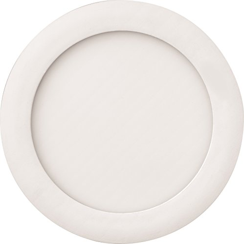 "Lithonia Lighting WF6 LED 30K MW M6 13W Ultra Thin 6"" Dimmable LED Recessed Ceiling Light, 3000K, White"