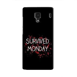 Cover It Up - Monday Survivor Redmi 1s Hard Case