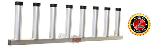 Receiver Hitch 8 Rod Holder Pivoting Heavy Duty (Mill Finish) Review