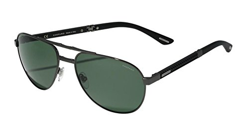 Sunglasses Chopard SCHB 81 Brown Gunmetal Wood 568P (Sunglasses For Men Chopard)