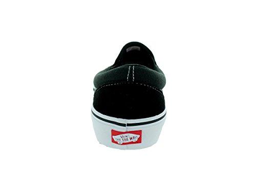 Bestelwagens Skateboardschoenen Slip Op Pro Zwart / Wit / Gum Maat 11.5 Zwart