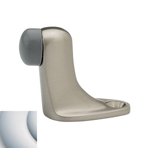 Baldwin 4510 2 Inch Solid Brass Floor Mounted Door Stop Satin Chrome 4510264