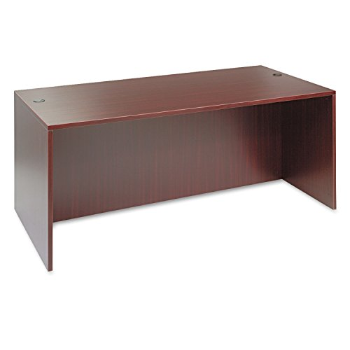 - Alera VA217236MY Valencia Series 72 by 36 by 29-1/2-Inch Desk Shell, Mahogany