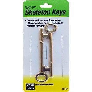 Hy-Ko Skeleton Key Pack Without Notch by HY-KO PROD CO