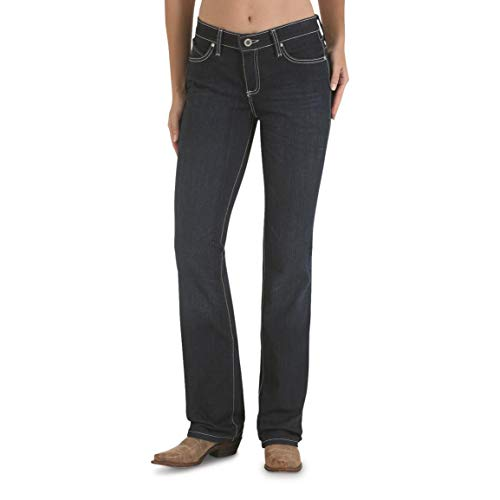 (Wrangler Women's Cowgirl Cut Ultimate Riding Jean,Q-Baby, Booty Up, ST Wash, ST Wash, 9 L38)