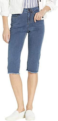 FDJ French Dressing Jeans Women's Lightweight Olivia Pedal Pusher in Denim Denim 2 16