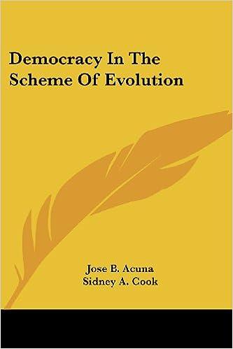 Democracy In The Scheme Of Evolution
