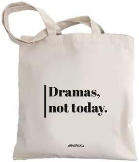 Okemaku Bolsa Tela Mensaje Dramas Not Today Bolsas De