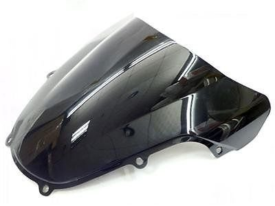 Dark schwarz smoke ABS Motorrad Wave Windschutzscheibe Shield Wind Screen Windschutzscheibe fü r 2000– 2002 Suzuki GSXR600 GSXR750 GSXR1000 GSXR GSX-R 600 750 1000 K1 2001 00– 02 FATExp