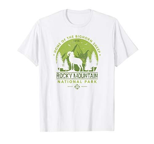 Rocky Mountain National Park Longhorn Sheep T Shirt ()