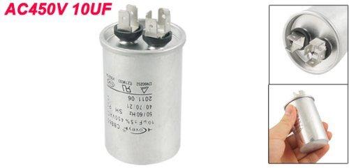 450V eDealMax CBB65 del acondicionador de aire de película de polipropileno condensador del Motor de CA 10uF: Amazon.com: Industrial & Scientific
