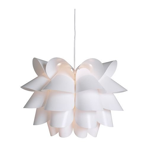 Ikea chandelier amazon ikea 60071344 knappa pendant lamp white aloadofball Choice Image