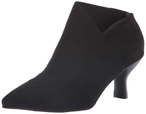 Adrianna Micro Bottine Papell Black Suede Toile Hayes wRwAq0