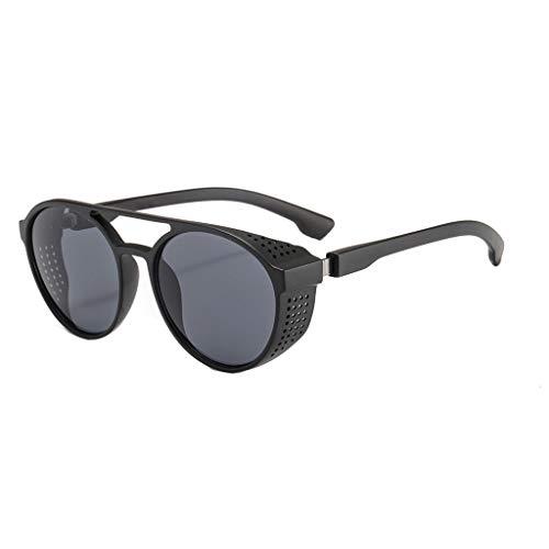 - Yucode Classic Polarized Driving Glasses Shades for Men Round Sunglasses UV Protection Non-Prescription Eyewear Glasses Gray