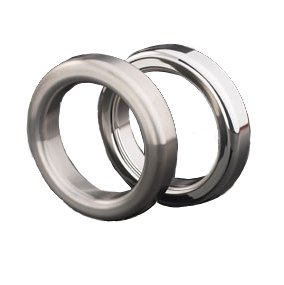 Master Series Metal Cock Ring: 1 3/4'', Brushed Finish by Gear Essentials