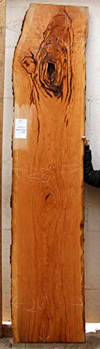 Live Edge Cherry Bar Top DIY Natural Wood Slab Countertop Custom Rustic Bartop Counter Unfinished Vanoty Wooden Furniture Sofa Table 6306s5