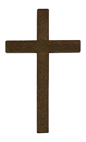 Wooden Cross Crafts (Small Wooden Crucifix Crosses One Pack of 40 Pieces 2