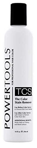 POWERTOOLS TCS The Color Stain Remover For Hair, Nail, Clothes 10 oz HC-32703 by Power Tools