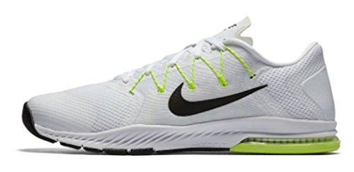 Nike Mens Zoom Train Complete Training Shoe White / Black - Pure Platinum - Volt 882119-100 (11)
