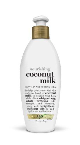 OGX Leave-In Nourishing Milk, Nourishing Coconut Milk, 6oz