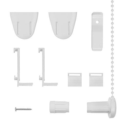 Lichtblick Klemmträger und Zubehör Montage-Set für Klemmfix Rollo RKV