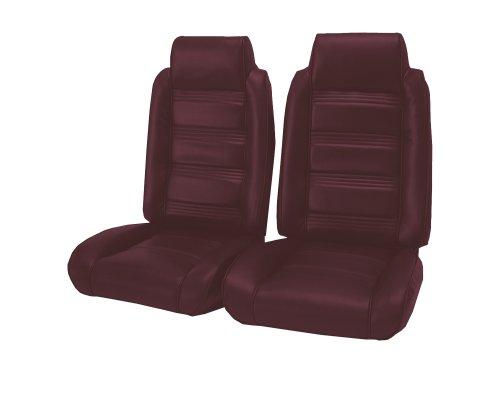 Acme U208-4545 Front Maroon Vinyl Bench Seat Upholstery