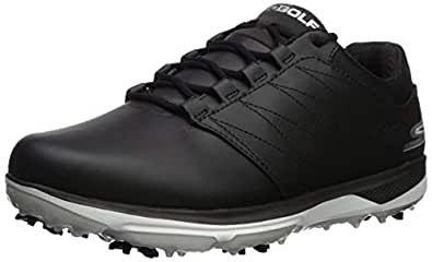 Skechers Mens Pro 4 Waterproof Golf Shoe Black Size: 7.5