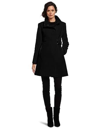 Via Spiga Women's Luxurious Wool Coat, Black, 2