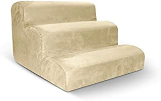 product image for Pura Naturals Pet Ergo Pet Stairs - 3 Steps   Ivory