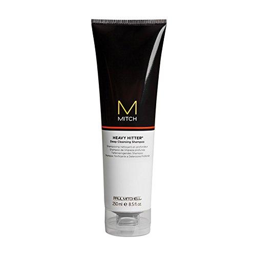 Mitch Heavy Hitter Deep Cleansing Shampoo, 8.5 fl. oz. - Men Deep Cleansing Shampoo