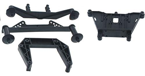 (Slash 58034-2 Front & Rear Shock Towers w Body Post Mounts Traxxas)