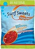 Surf Sweets Natural & Organic Candy Gummy Bears 2.75 oz. bags - 3PC