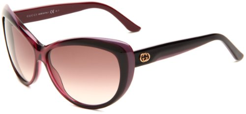 Gucci Women's 3510/S Cat Eye Sunglasses, - Safilo Optical