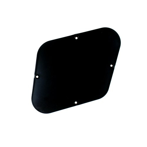 Les Paul Guitar Cavity Cover Backplate ABS BLACK (Les Paul Backplate)