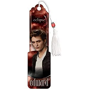 Twilight Eclipse Movie (Edward) Beaded Bookmark - 2x6