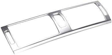 2013 Copertura cruscotto console centrale uscita aria telaio in acciaio INOX per X5 E70 2009